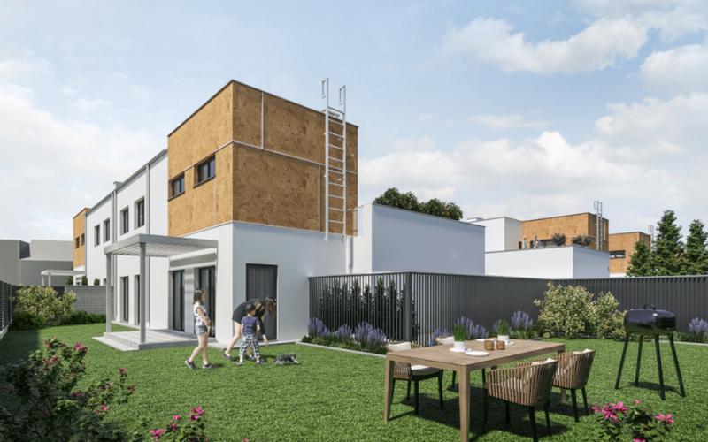 Poznań Dębiec ul. Bielska - Poznań, Dębiec, ul. Bielska, New House Development - zdjęcie 2