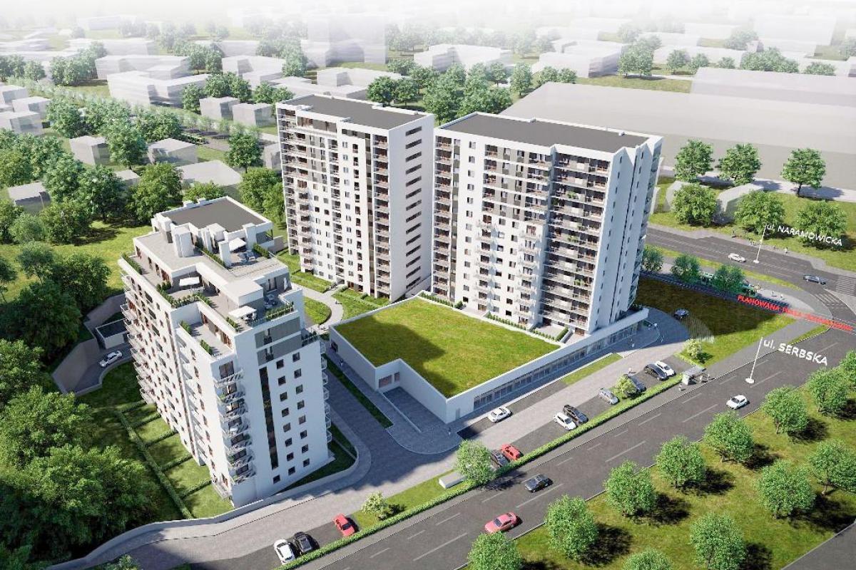 Nowych Kosmonautów - Poznań, Winogrady, ul. Serbska/Naramowicka, Monday Development SA - zdjęcie 9