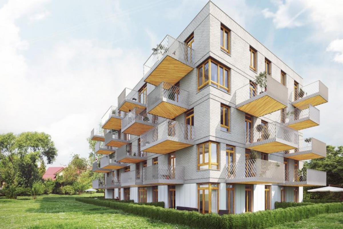 Apartamenty Whitehouse - Kraków, Kobierzyn, ul. Kobierzyńska, AZB Nieruchomości - zdjęcie 1