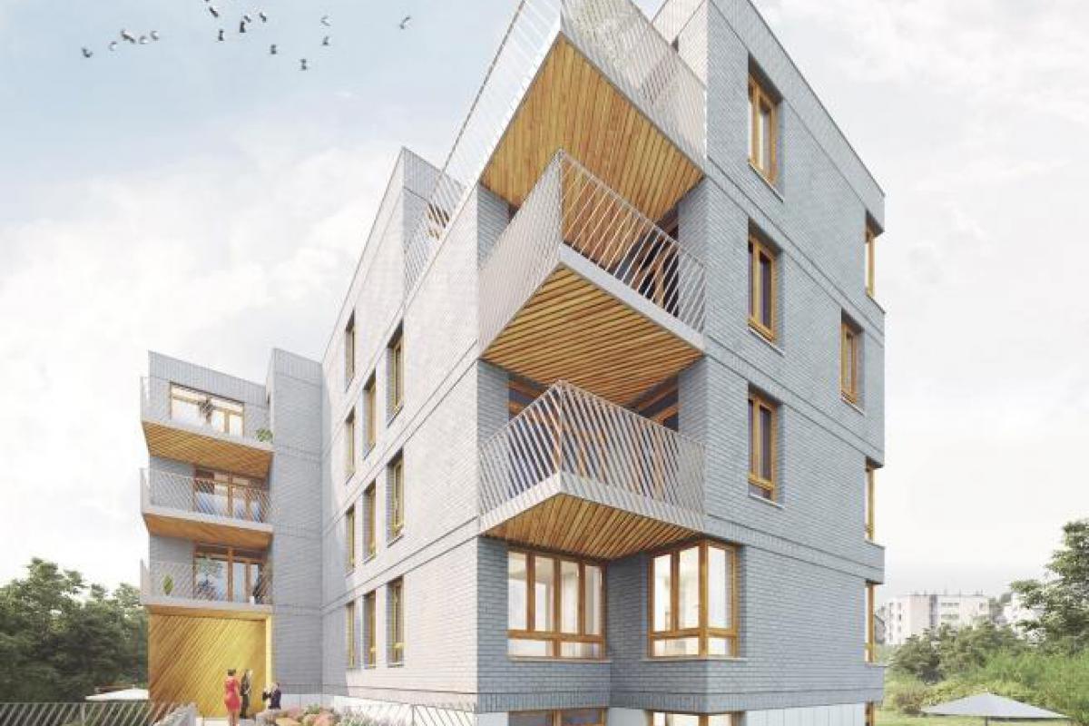 Apartamenty Whitehouse - Kraków, Kobierzyn, ul. Kobierzyńska, AZB Nieruchomości - zdjęcie 2