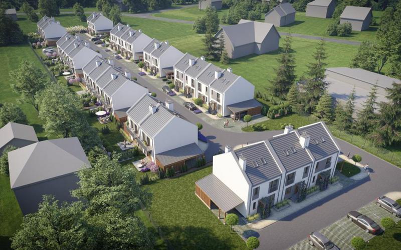 Domy nad Wilgą - Wrząsowice, ul. Nad Wilgą, Invest House S.A - zdjęcie 8