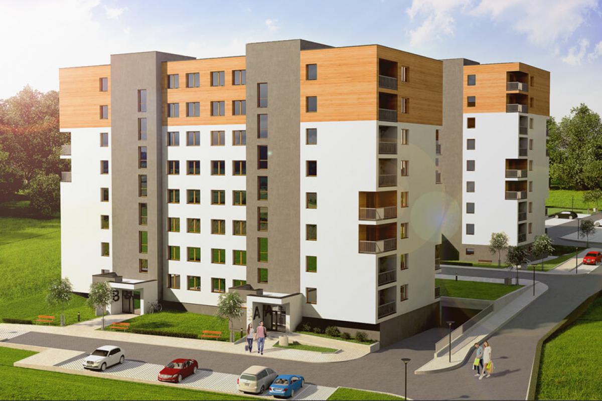 Apartamenty Zachód - Rzeszów, Przybyszówka, ul. Odrzykońska, Apartamenty Zachód - zdjęcie 1