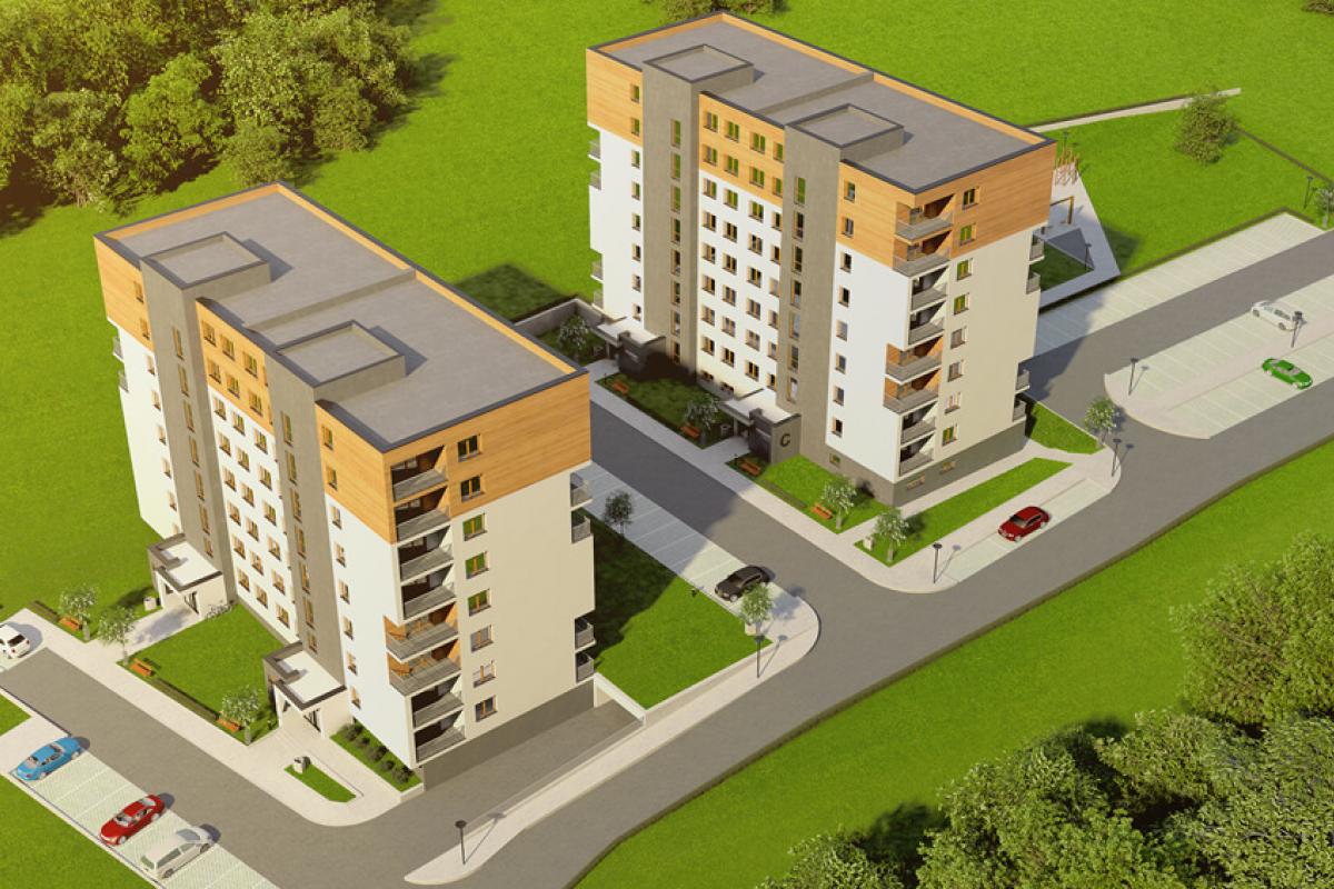 Apartamenty Zachód - Rzeszów, Przybyszówka, ul. Odrzykońska, Apartamenty Zachód - zdjęcie 3