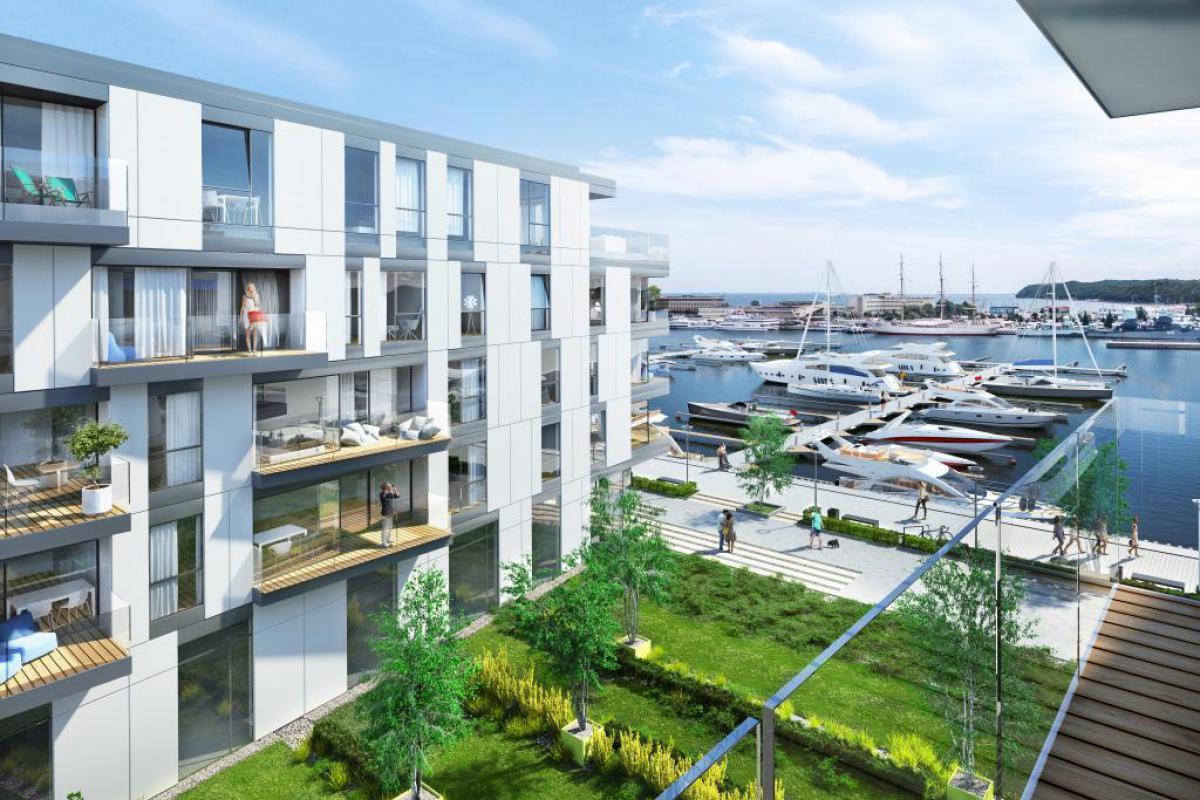 Yacht Park - Gdynia, Śródmieście, ul. Rybickiego, Polski Holding Nieruchomości S.A. - zdjęcie 1