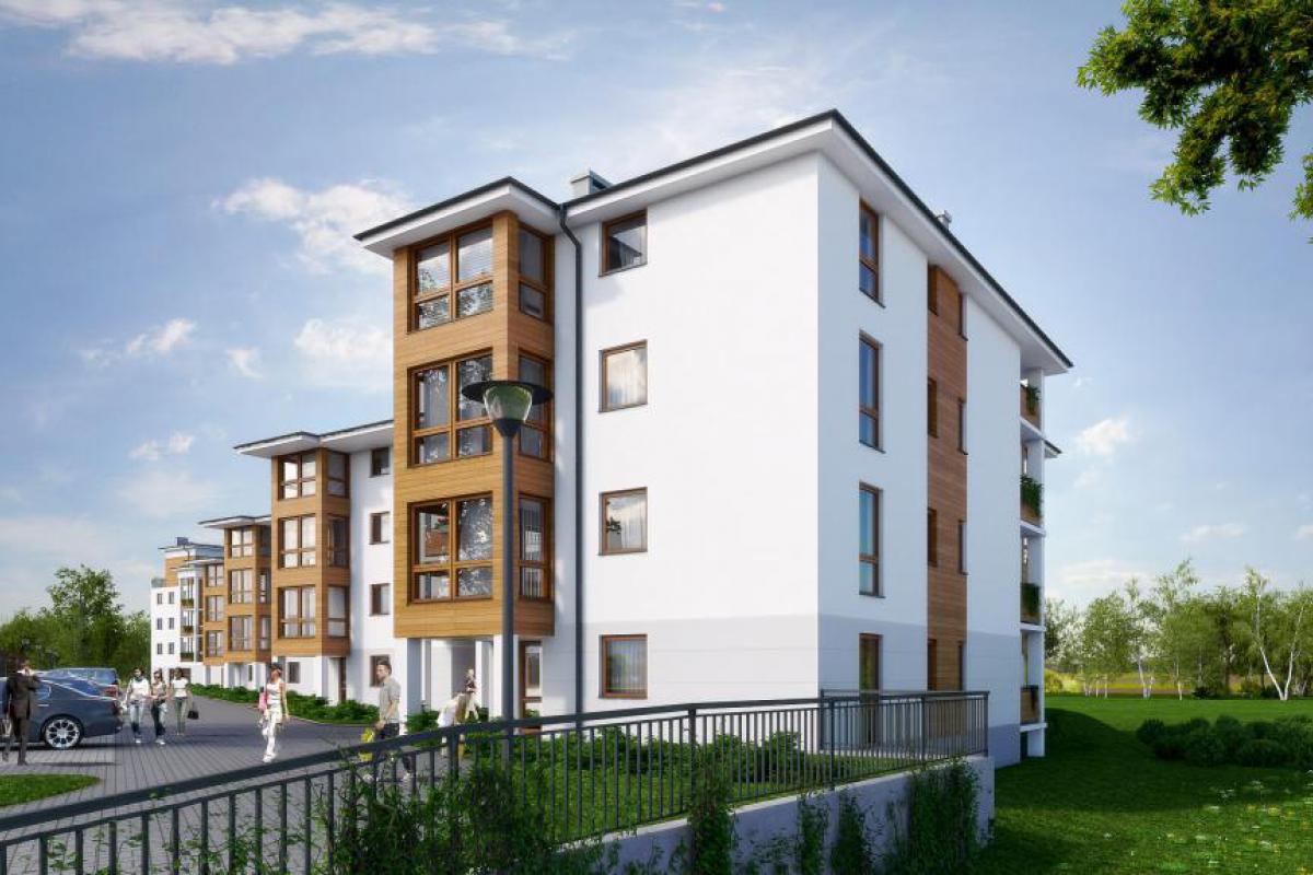 Osada Zielona - Wrocław, Złotniki, ul. Halicka /ul. Podhalańska, Omega Buildings Sp. z o.o. B Sp.k. - zdjęcie 4