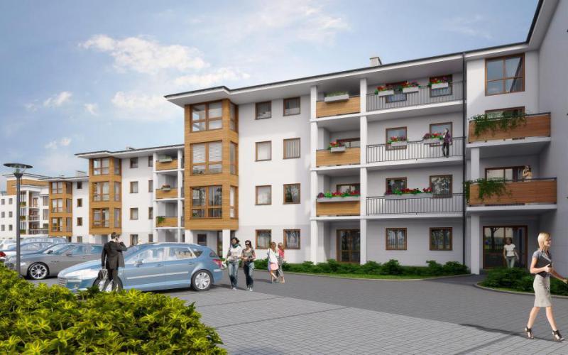 Osada Zielona - Wrocław, Złotniki, ul. Halicka /ul. Podhalańska, Omega Buildings Sp. z o.o. B Sp.k. - zdjęcie 2