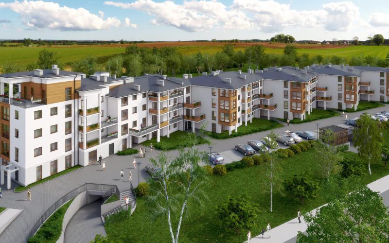 Osada Zielona - Wrocław, Złotniki, ul. Halicka /ul. Podhalańska, Omega Buildings Sp. z o.o. B Sp.k. - zdjęcie 1