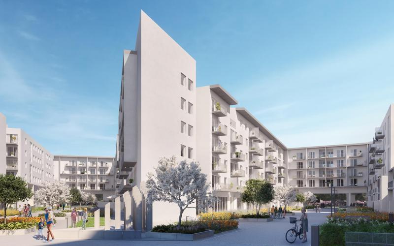 Malta Wołkowyska - Poznań, Rataje, ul.Wołkowyska, UWI Inwestycje S.A. - zdjęcie 9