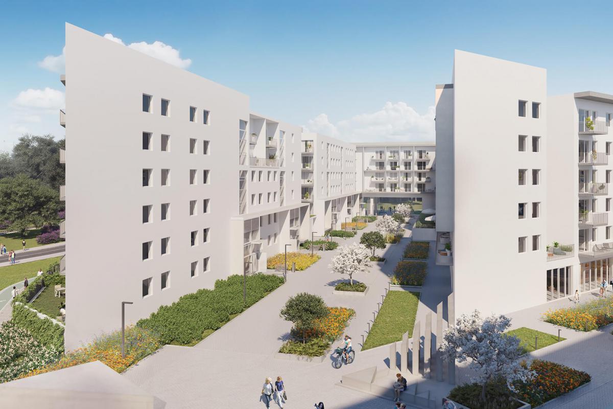 Malta Wołkowyska - Poznań, Rataje, ul.Wołkowyska, UWI Inwestycje S.A. - zdjęcie 3