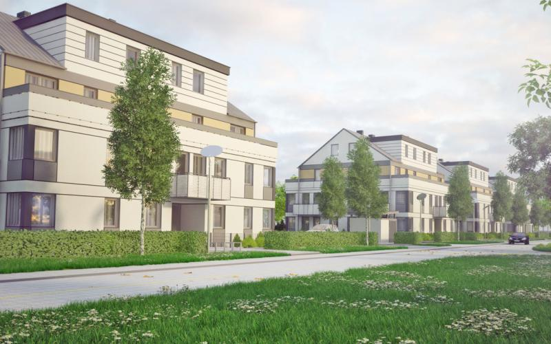 Zielony Brochów - Wrocław, Brochów, ul. Gruzińska, Projekty Deweloperskie HOSSANOVA Sp. z o.o., Sp.k. - zdjęcie 1