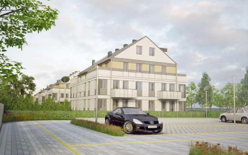 Zielony Brochów - Wrocław, Brochów, ul. Gruzińska, Projekty Deweloperskie HOSSANOVA Sp. z o.o., Sp.k. - zdjęcie 3