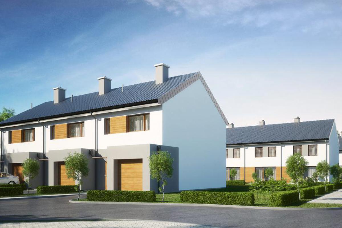 Osiedlowa II - domy - Gdańsk, Karczemki, ul. Św. Brata Alberta, City House - zdjęcie 1