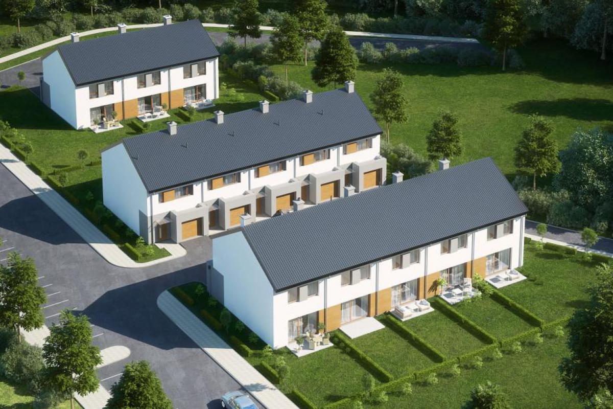 Osiedlowa II - domy - Gdańsk, Karczemki, ul. Św. Brata Alberta, City House - zdjęcie 2