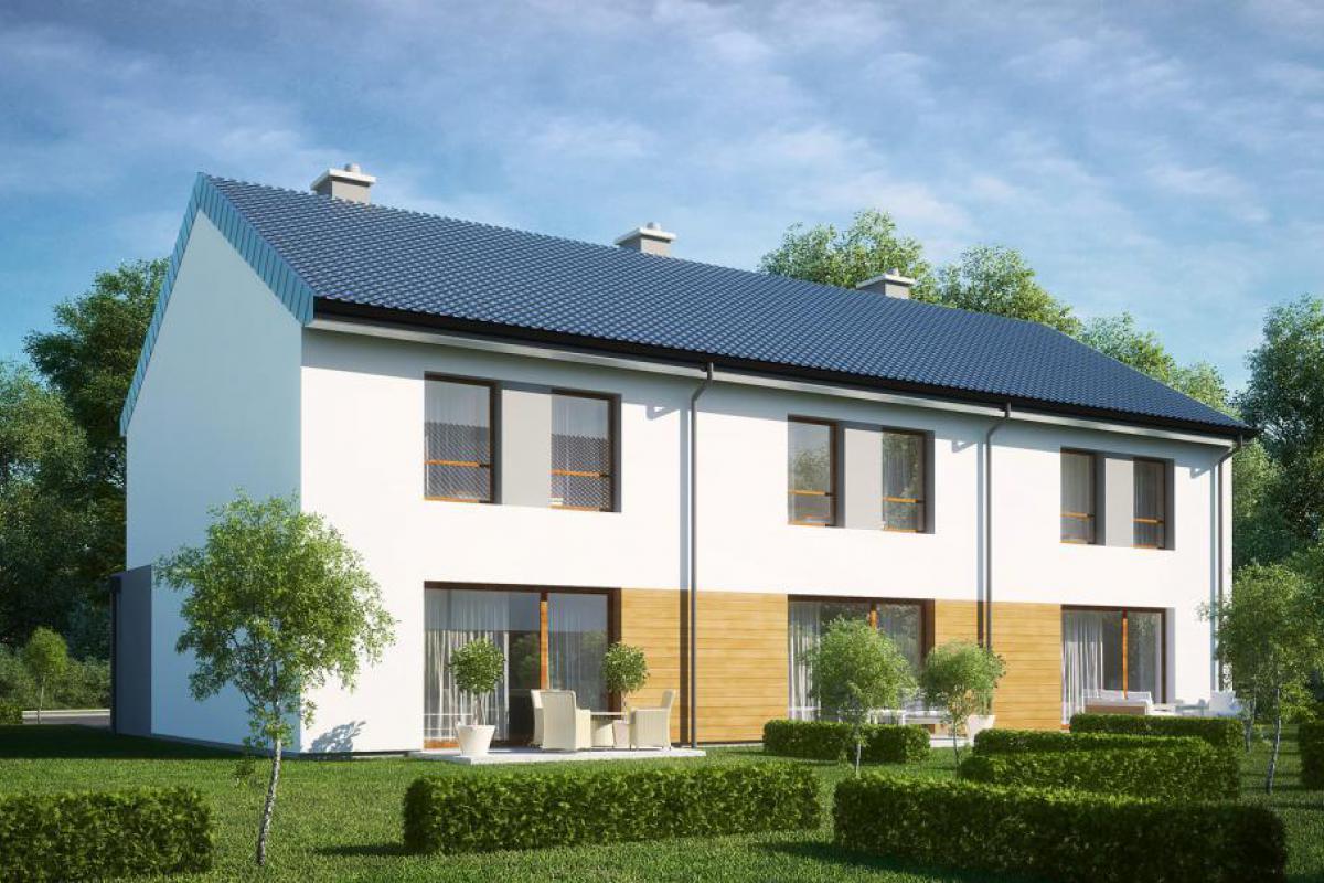 Osiedlowa II - domy - Gdańsk, Karczemki, ul. Św. Brata Alberta, City House - zdjęcie 3