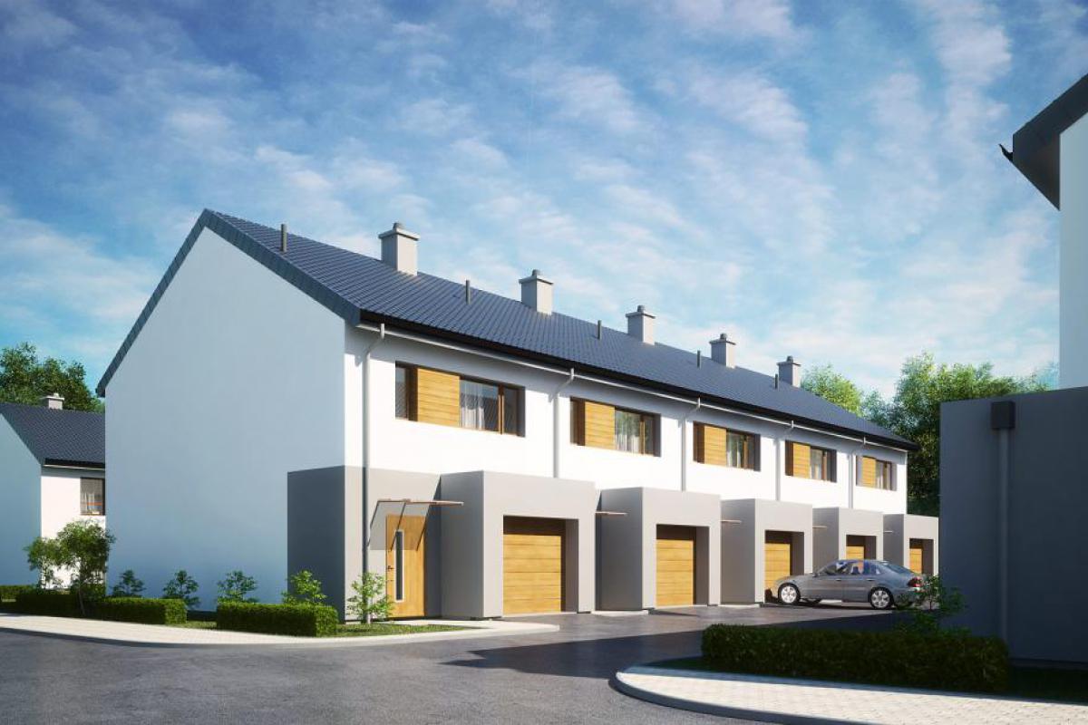 Osiedlowa II - domy - Gdańsk, Karczemki, ul. Św. Brata Alberta, City House - zdjęcie 4
