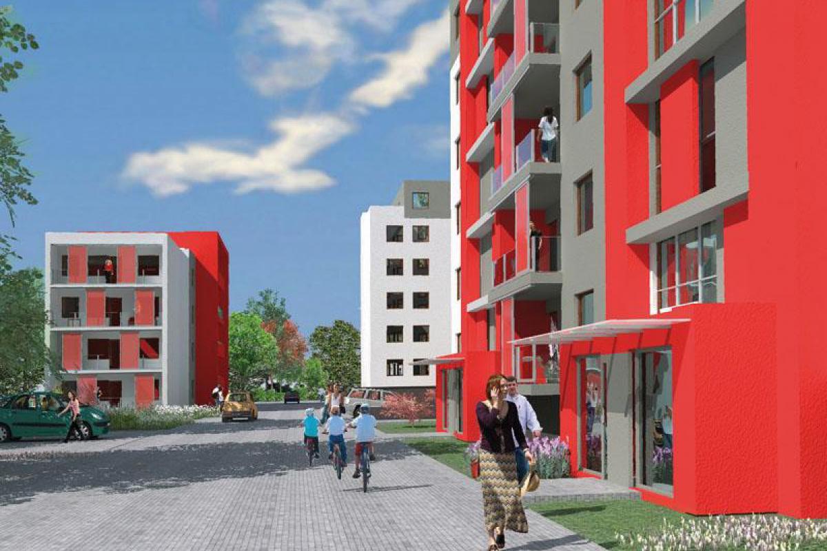 Miejska Przystań - Bydgoszcz, Glinki, ul. Dąbrowa 17A/17B , PRES Development - zdjęcie 1