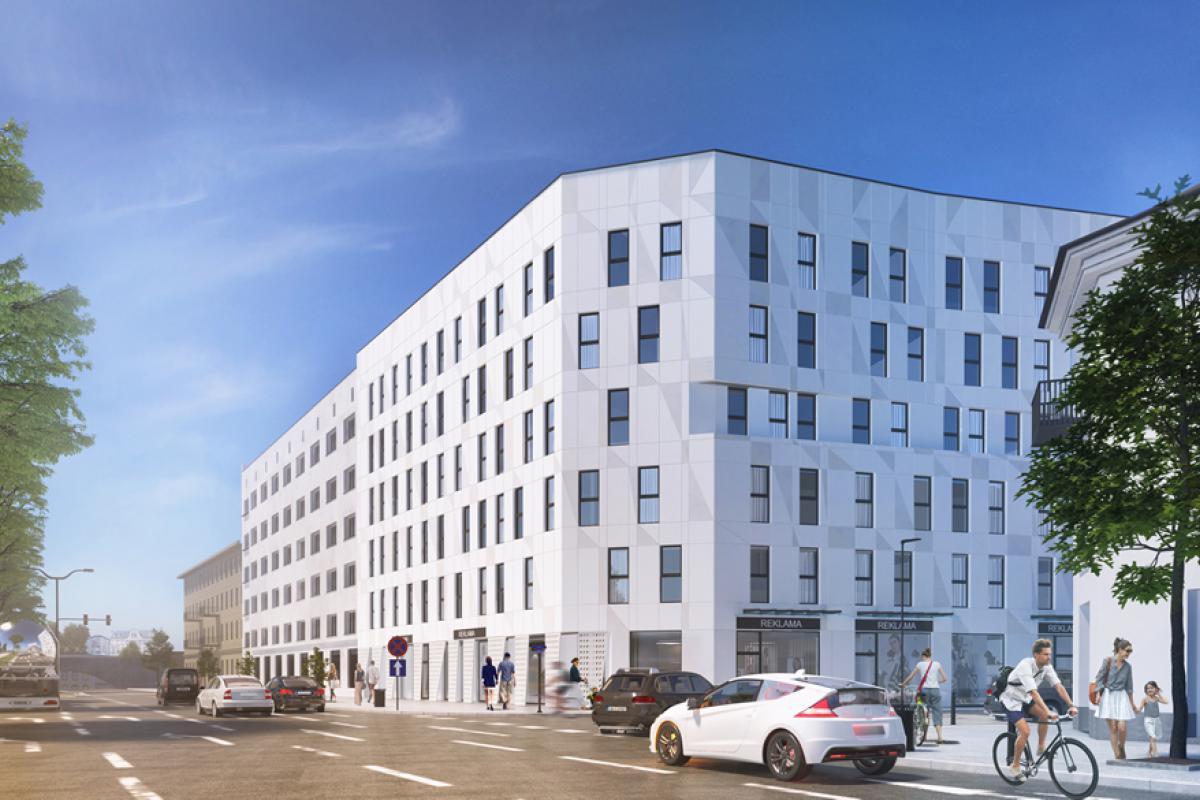 Apartamenty Targowa 10 - Warszawa, ul. Targowa 10, BJM DEVELOPMENT S.C. - zdjęcie 1