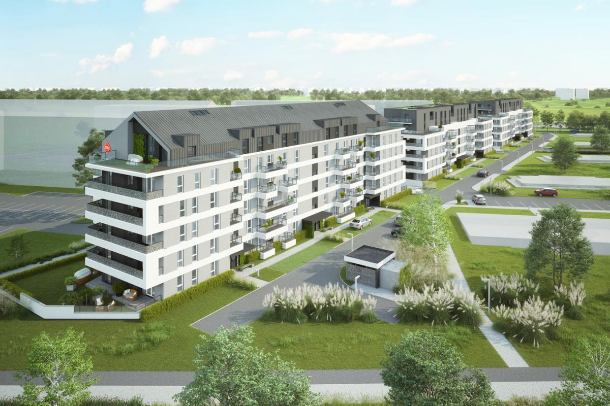 Nowe Miasto Jagodno  - Wrocław, Jagodno, ul. Asfaltowa/Buforowa, Atal S.A. - zdjęcie 1