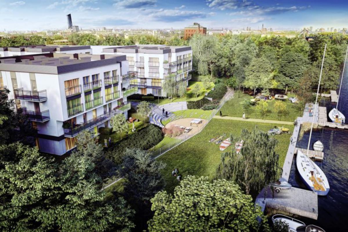 Miasto Marina - Wrocław, Przedmieście Oławskie, ul. Na Grobli, Ronson Development - zdjęcie 1