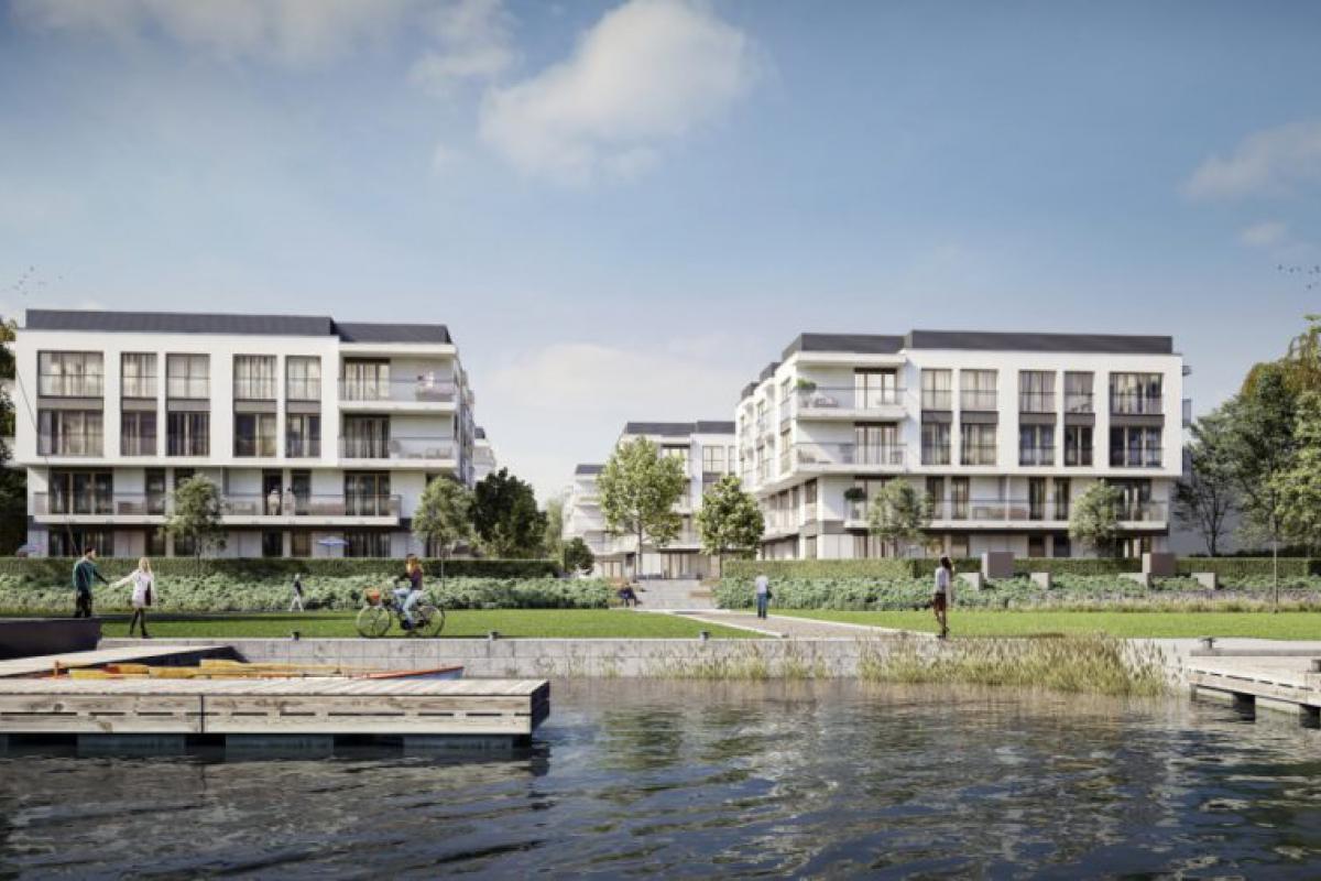 Miasto Marina - Wrocław, Przedmieście Oławskie, ul. Na Grobli, Ronson Development - zdjęcie 3