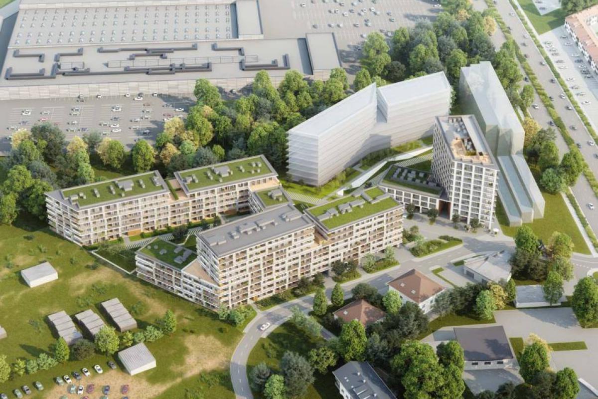 Nowa Grochowska Mikroapartamenty Inwestycyjne - Warszawa, Gocławek, ul. Grochowska/Kokoryczki, Atal S.A. - zdjęcie 2