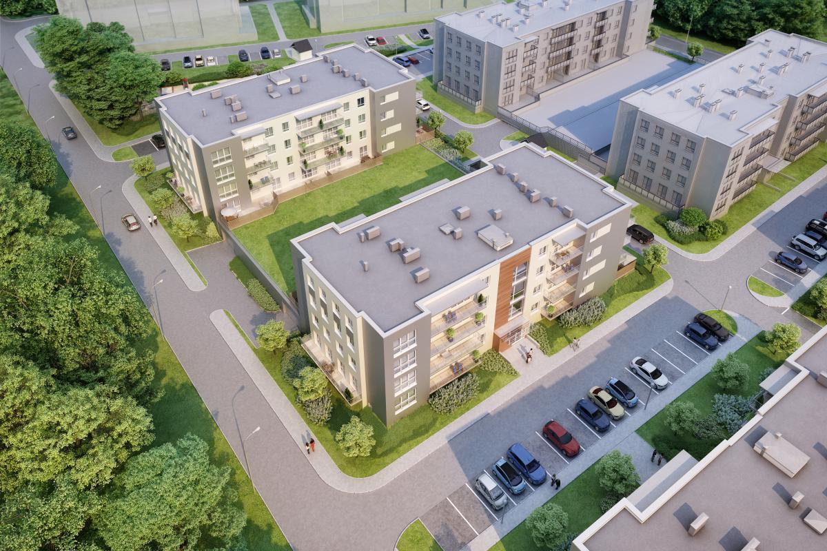 GREEN HOME - KONTYNUACJA - Zielona Góra , UL. SUWALSKA 19, 21, EBF DEVELOPMENT Sp. z o.o. Sp.k. - zdjęcie 3