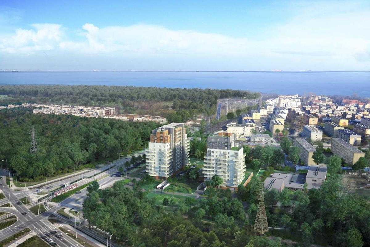 ATAL Baltica Towers Apartamenty Inwestycyjne - Gdańsk, Al. Gen. Hallera, Atal S.A. - zdjęcie 1