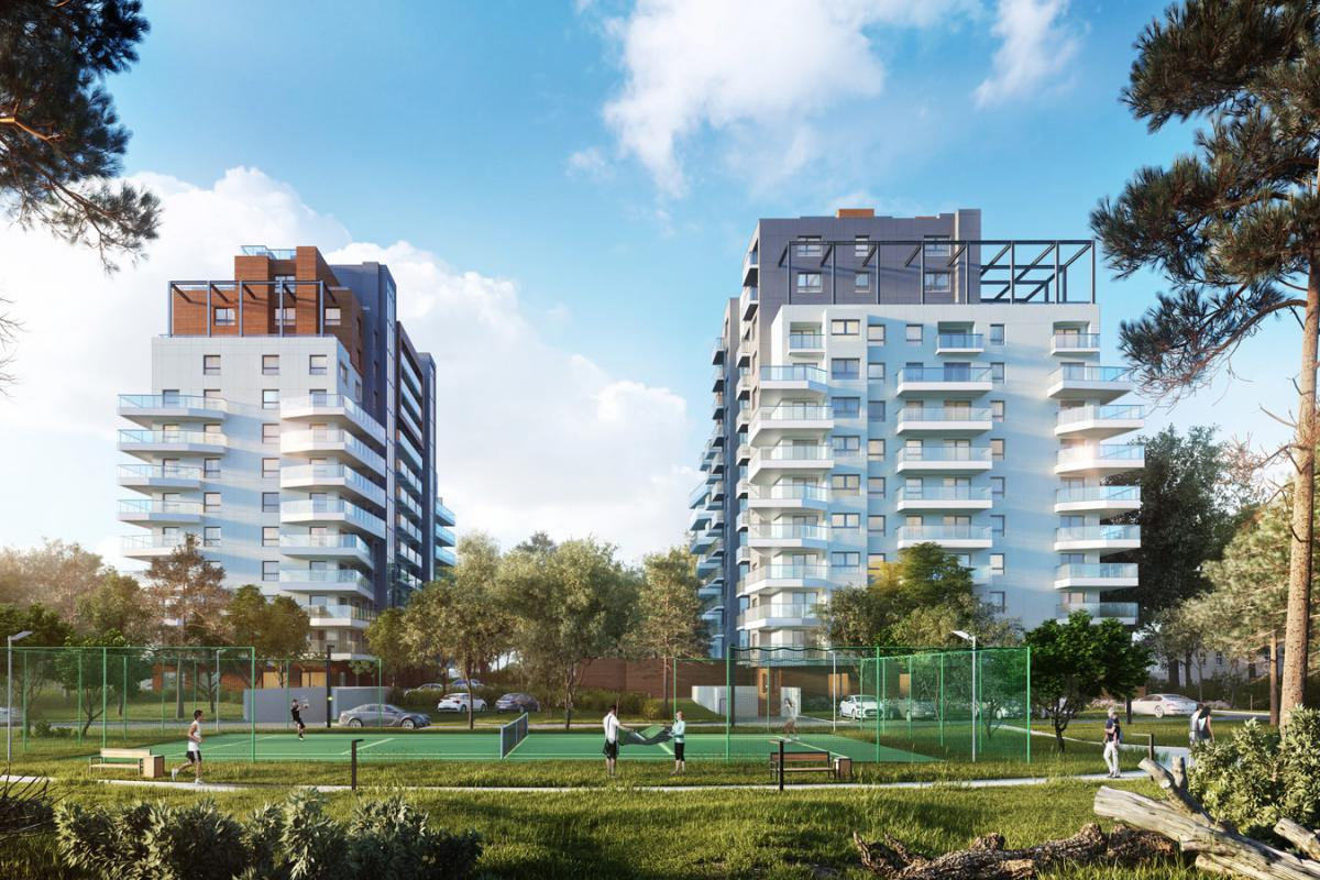 ATAL Baltica Towers Apartamenty Inwestycyjne - Gdańsk, Al. Gen. Hallera, Atal S.A. - zdjęcie 3