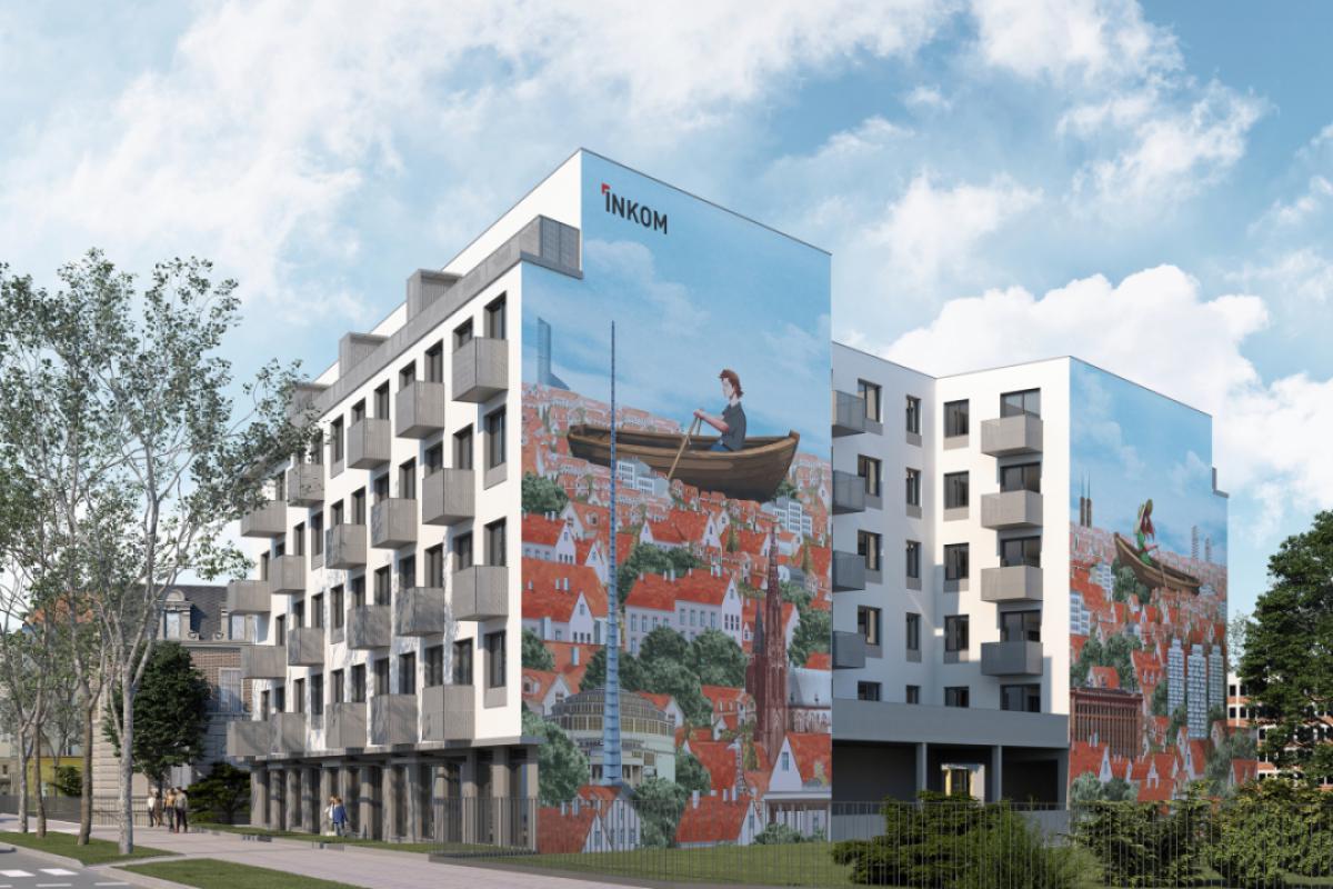 Gdańska 1 - Wrocław, Plac Grunwaldzki, ul. Gdańska 1, INKOM S.A. - zdjęcie 2