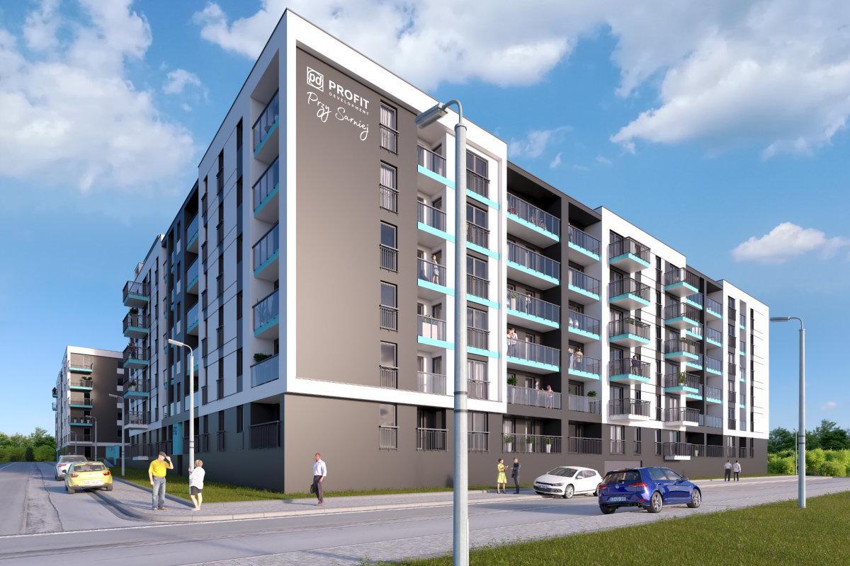 Przy Sarniej - Łódź, ul. Sarnia, Grupa PROFIT Development S.A. - zdjęcie 1
