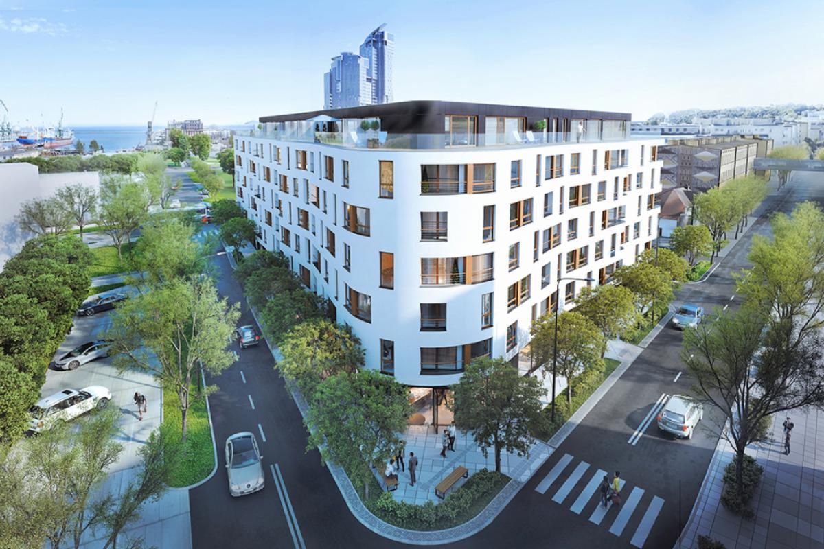 Apartamenty Awanport - Gdynia , ul. Żeromskiego, św. Wojciecha, Waszyngtona, AB Inwestor - zdjęcie 4