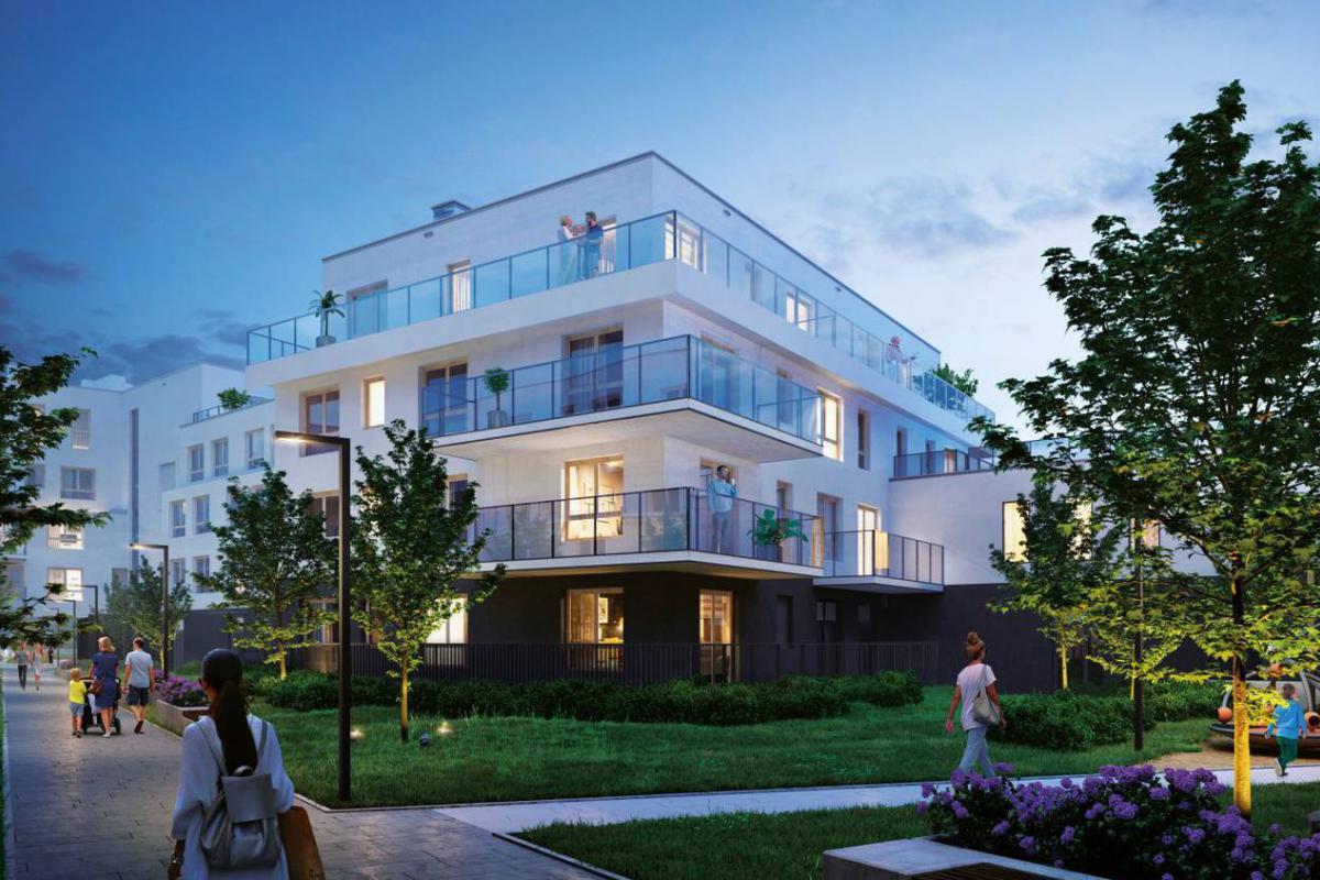 Apartamenty Królewskie  - Warszawa , Błonia Wilanowskie, ul. Oś Królewska, ROBYG S.A. - zdjęcie 1