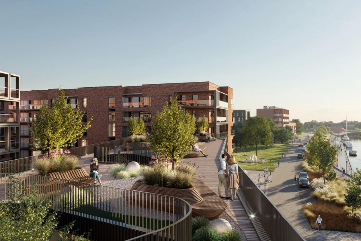 Nadmotławie Apartments - Gdańsk, ul. Sienna Grobla, ROBYG S.A. - zdjęcie 1