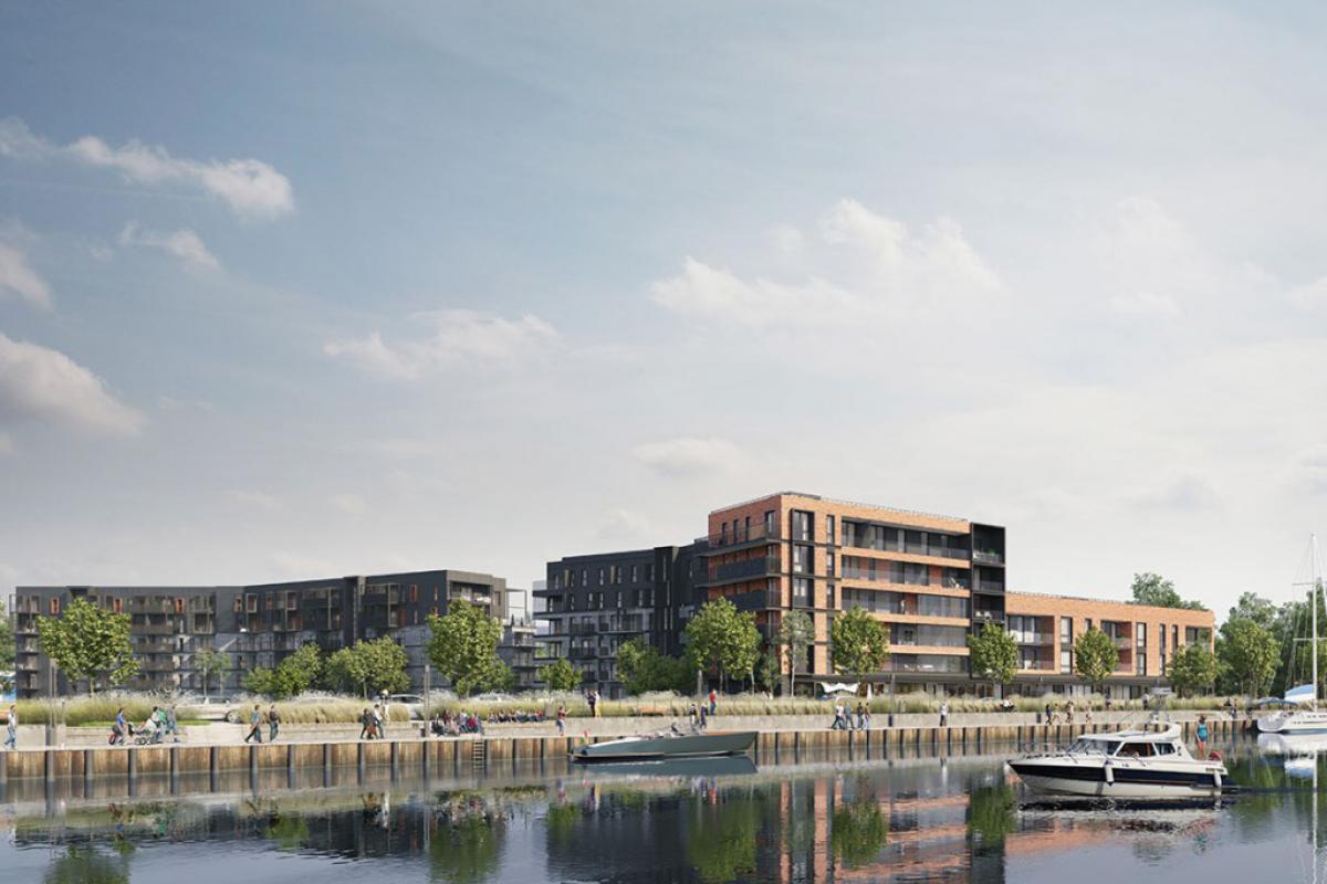 Nadmotławie Apartments - Gdańsk, ul. Sienna Grobla, ROBYG S.A. - zdjęcie 3