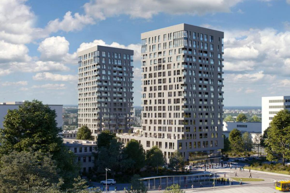 Sokolska 30 Towers - Katowice, ul. Sokolska, Atal S.A. - zdjęcie 1