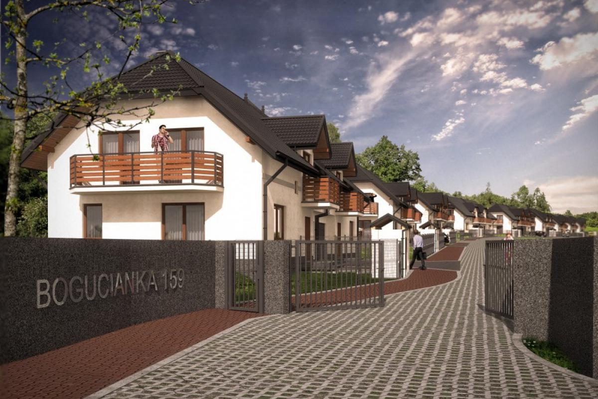 Bogucianka 159 - Kraków, Dębniki, ul. Bogucianka, Grupa Rogala - zdjęcie 2