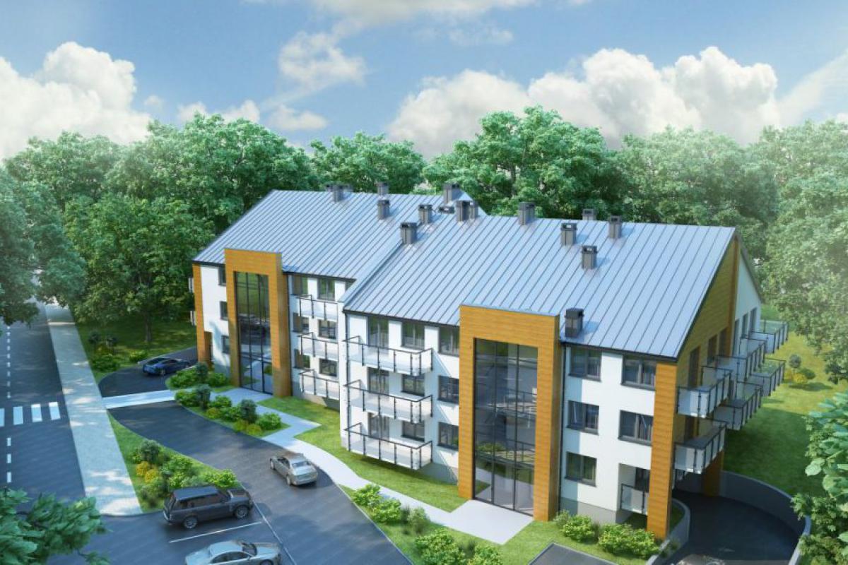 Nowe Mieszkania Busko-Zdrój - Busko-Zdrój, ul. Kusocińskiego, Grupa Rogala - zdjęcie 2