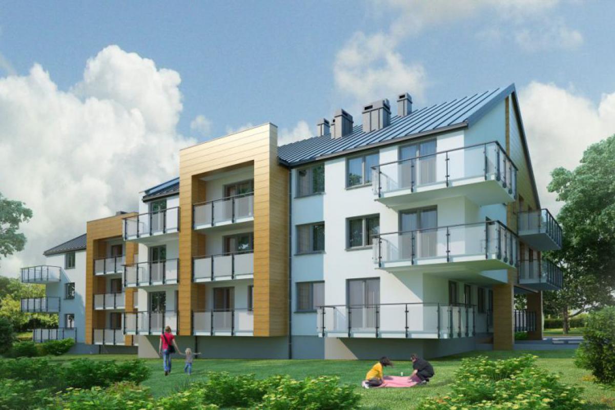 Nowe Mieszkania Busko-Zdrój - Busko-Zdrój, ul. Kusocińskiego, Grupa Rogala - zdjęcie 1