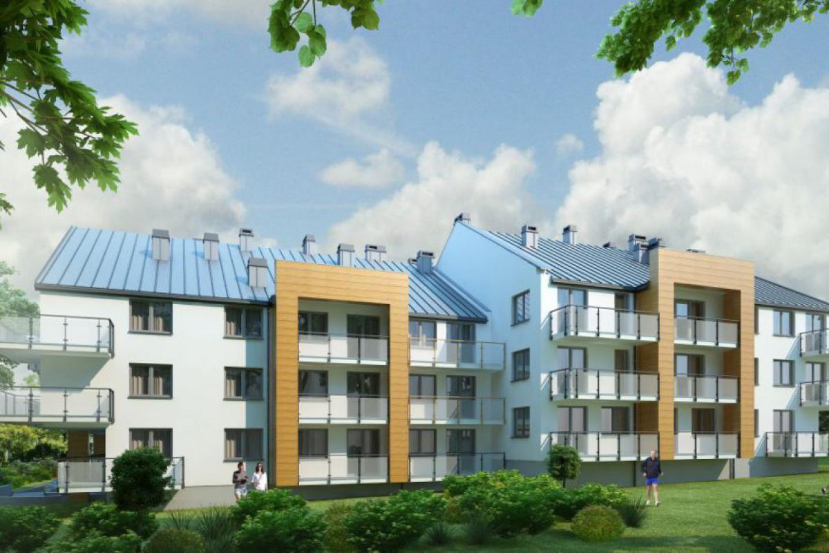 Nowe Mieszkania Busko-Zdrój - Busko-Zdrój, ul. Kusocińskiego, Grupa Rogala - zdjęcie 3