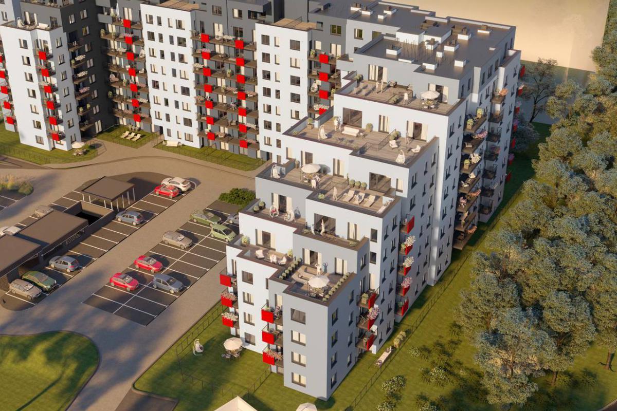 Nad Odrą - Wrocław , Kleczków, ul. Rychtalska, WPBM MÓJ DOM S.A. - zdjęcie 2