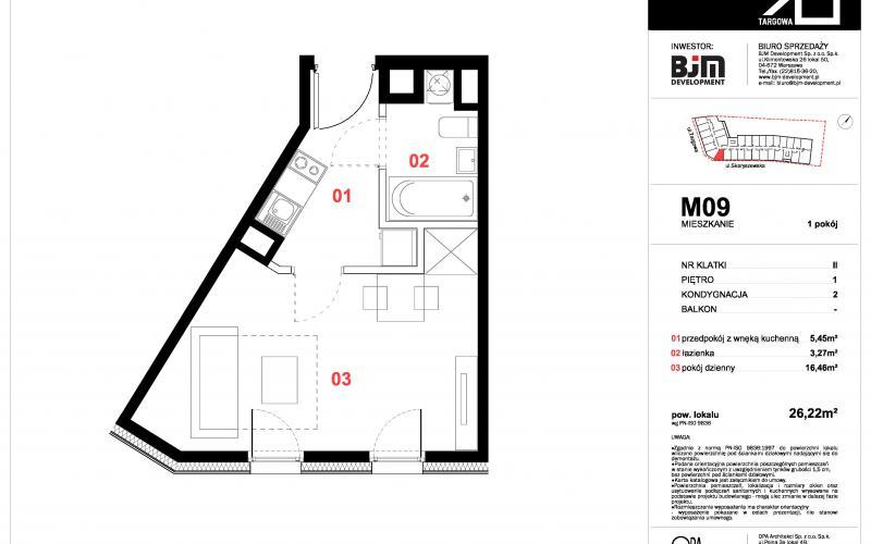 Apartamenty Targowa 10 - Warszawa, ul. Targowa 10, BJM DEVELOPMENT S.C. - zdjęcie 6