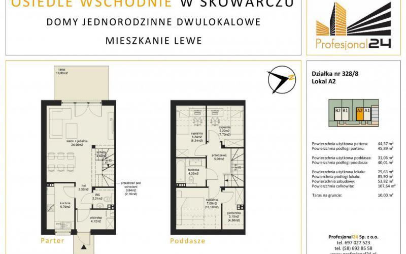 Osiedle Wschodnie w Skowarczu – mieszkania  - Skowarcz, Profesjonal24 Sp. z o.o. - zdjęcie 10
