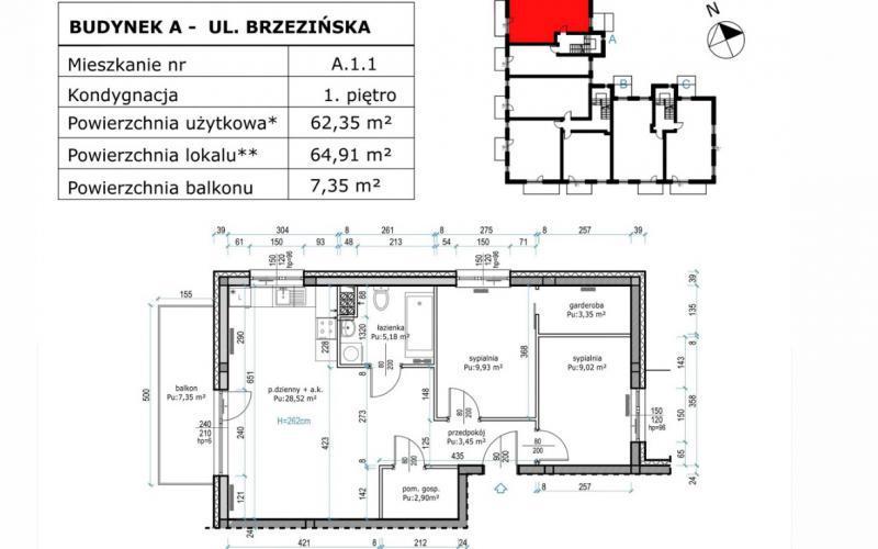 Leśnica, ul. Brzezińska - Wrocław, Leśnica, ul. Brzezińska, Spółdzielnia Budowlano-Mieszkaniowa Maślice - zdjęcie 4