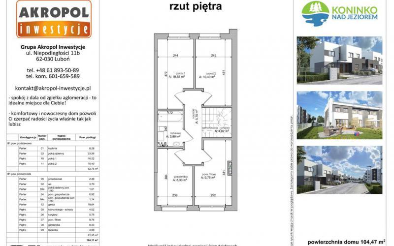 Koninko domy szeregowe - Koninko, Akropol Inwestycje Sp. z o.o. - zdjęcie 5