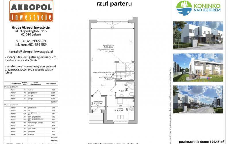 Koninko domy szeregowe - Koninko, Akropol Inwestycje Sp. z o.o. - zdjęcie 4