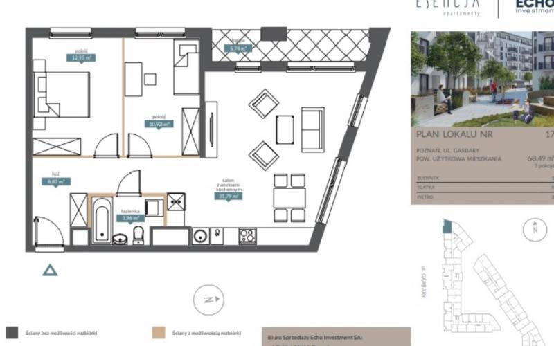 Apartamenty Esencja - Poznań, ul. Garbary, Echo Investment S.A. - zdjęcie 6