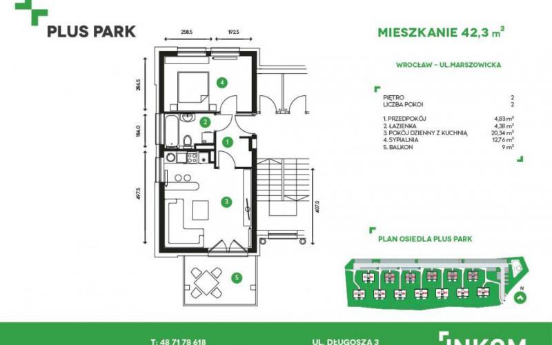 Plus Park - Wrocław, Marszowice, ul. Marszowicka, INKOM S.A. - zdjęcie 4