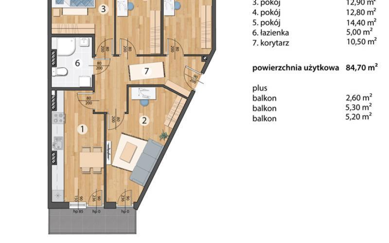 Osada Kolorowa - Wrocław, Maślice, ul. Maślicka, Omega Buildings Sp. z o.o. B Sp.k. - zdjęcie 5