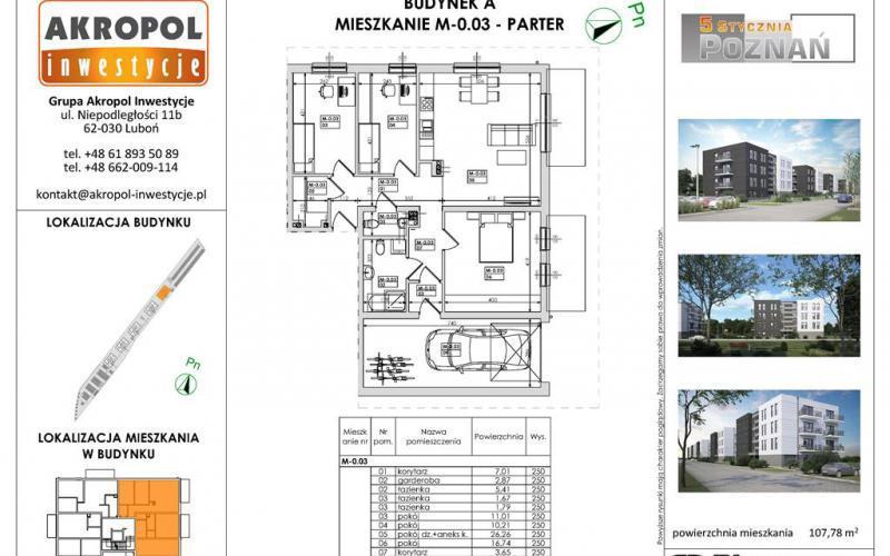 Poznań ul. 5 Stycznia - Poznań, Ławica, ul. 5 Stycznia, Akropol Inwestycje Sp. z o.o. - zdjęcie 8