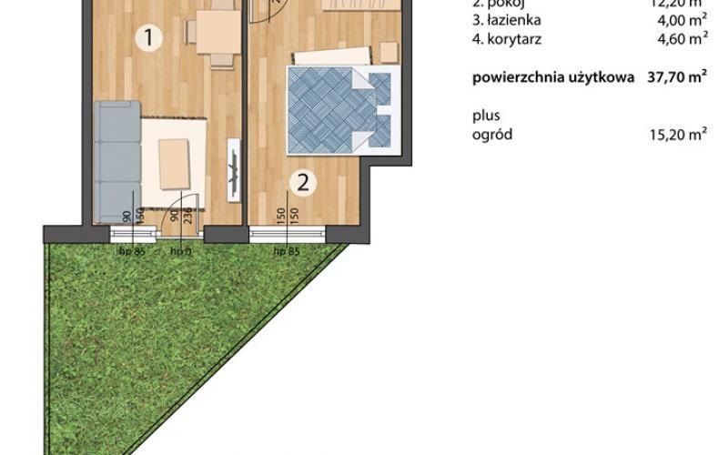 Osada Kolorowa - Wrocław, Maślice, ul. Maślicka, Omega Buildings Sp. z o.o. B Sp.k. - zdjęcie 9